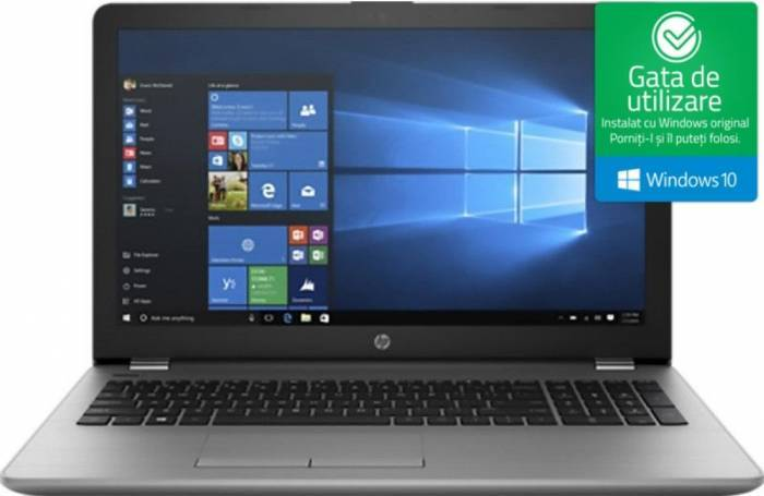 imagine 0 Laptop HP 250 G6 Intel Core Skylake i3-6006U 256GB SSD 4GB Win10 FullHD 1wy42ea