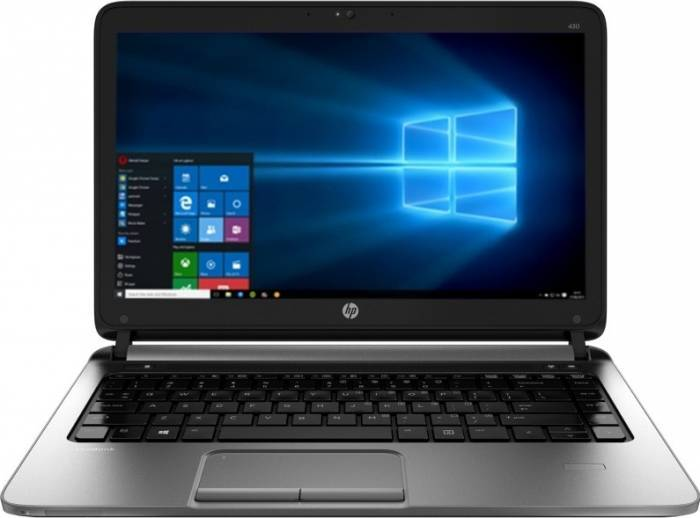 imagine 0 Laptop HP ProBook 430 G3 Intel Core Skylake i5-6200U 256GB 4GB Win10Pro Fingerprint Reader w4n83ea