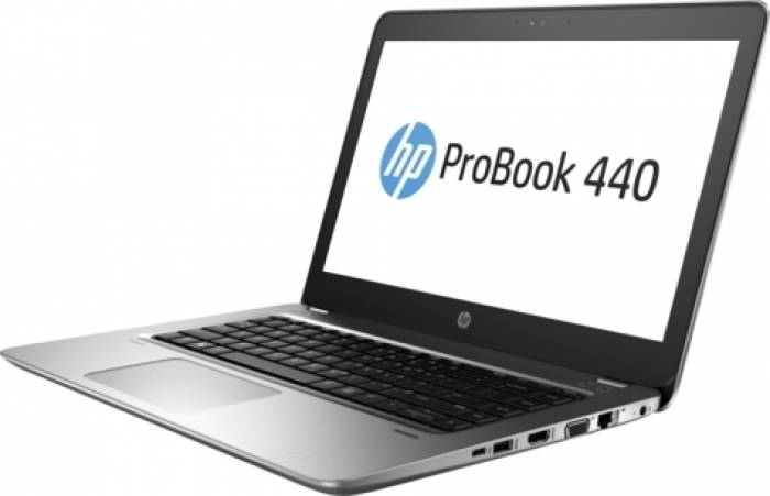 imagine 5 Laptop HP ProBook 440 G4 Intel Core Kaby Lake i3-7100U 500GB 4GB HD Fingerprint hpy7z78ea