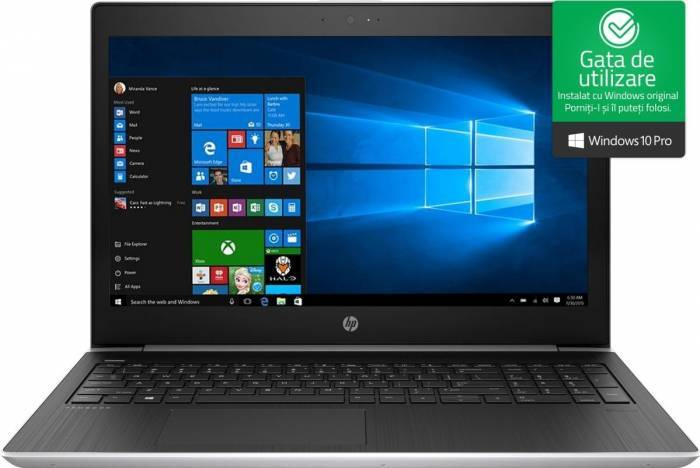 imagine 0 Laptop HP ProBook 450 G5 Intel Core Kaby Lake R (8th Gen) i5-8250U 256GB SSD 8GB nVidia GeForce 930MX 2GB FHD Win10 Pro 2rs07ea