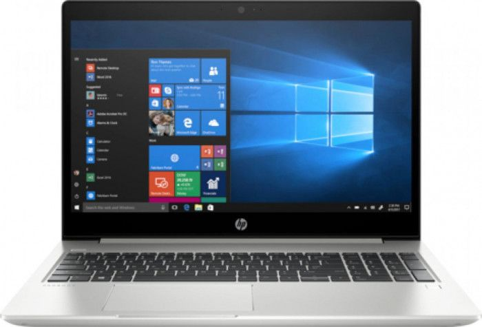 imagine 0 Laptop HP ProBook 450 G6 Intel Core Whiskey Lake (8th Gen) i5-8265U 256GB SSD 8GB Win10 Pro FullHD 5PQ55EA