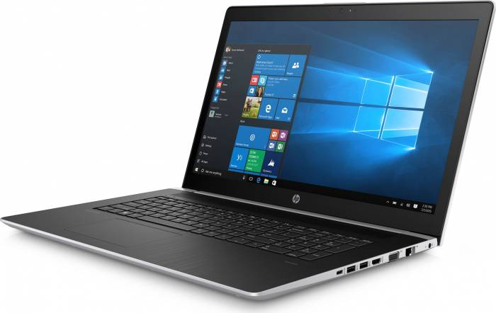 imagine 4 Laptop HP ProBook 470 G5 Intel Core Kaby Lake R (8th Gen) i5-8250U 1TB HDD 8GB nVidia GeForce 930MX 2GB Win10 Pro FullHD FPR Silver 2rr89ea