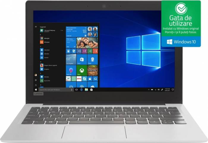 pret preturi Laptop Lenovo IdeaPad 120s-11IAP Intel Celeron Apollo Lake N3350 32GB EMMC 2GB Win10 HD Alb