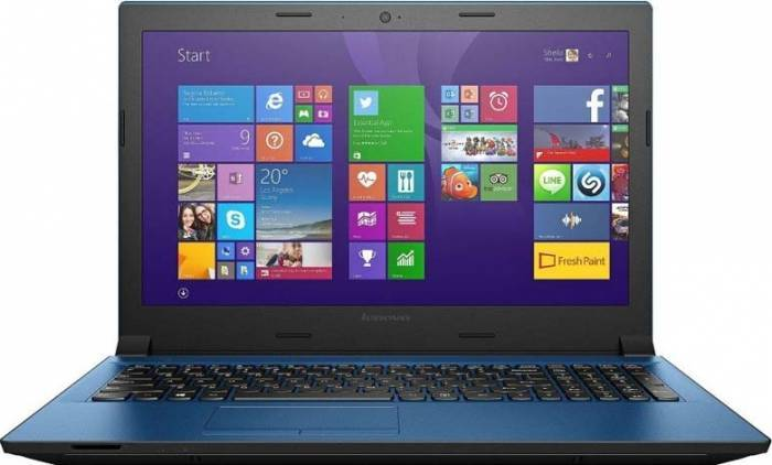 imagine 0 Laptop Lenovo IdeaPad 305-15 i3-5020U 1TB 8GB R5 M330 2GB DVDRW Win10 Blue 80nj00mdri