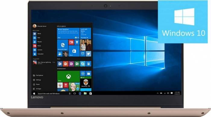 pret preturi Laptop Lenovo IdeaPad 520S-14IKB Intel Core Kaby Lake i5-7200U 1TB HDD+128GB SSD 4GB Win10 FullHD Gold