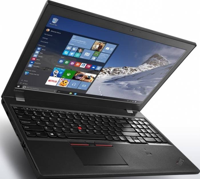 imagine 0 Laptop Lenovo ThinkPad T560 Intel Core Skylake i5-6200U 500GB+8GB 4GB Win10Pro FullHD 20fh001fri