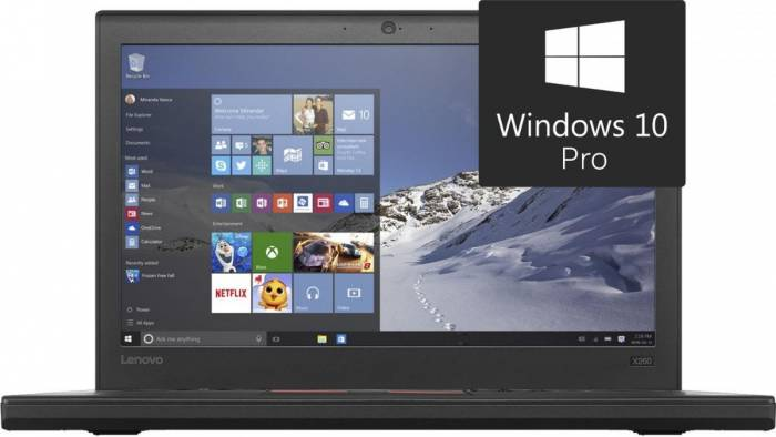 imagine 0 Laptop Lenovo x260 Intel Core Skylake i7-6500U 512GB 8GB Win10 Pro FingerPrint FullHD 4G lnv20f60085ri
