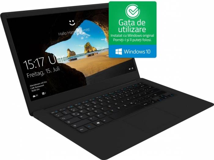 imagine 0 Laptop Odys Trendbook Next 14 Pro Intel Atom x5 Z8350 32GB 4GB Win10 FullHD x620009