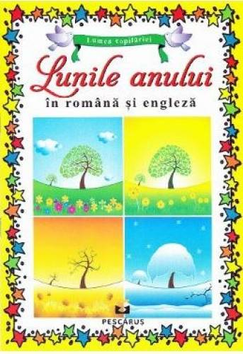 imagine 0 Lunile anului in romana si engleza 978-606-8379-58-6