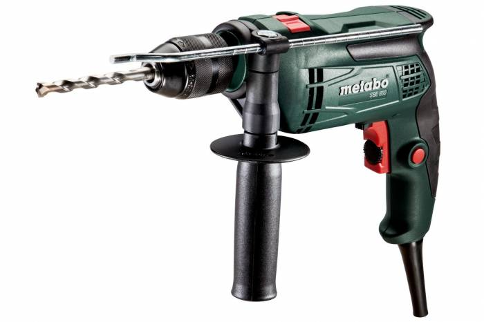 imagine 0 Masina gaurit cu percutie Metabo SBE650 650 W gaurire beton 14mm sbe650