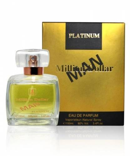 imagine 0 Million Dollar Man Gold apa de parfum arabesc barbatesc 100 ml kha024