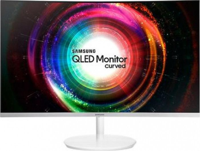 imagine 0 Monitor Curbat Gaming LED 27 Samsung LC27H711QEUXEN WQHD 4ms Alb lc27h711qeuxen