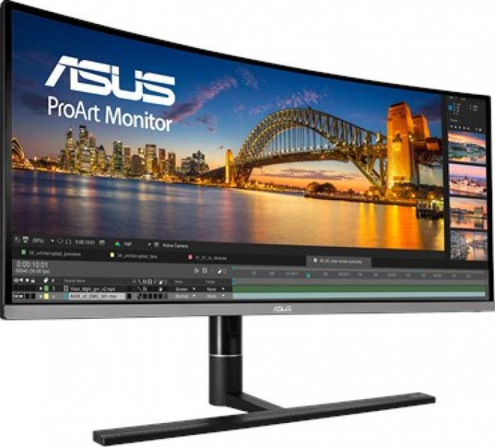 imagine 2 Monitor Curbat LED 34.1 ASUS PA34VC UWQHD 5ms IPS 100Hz Boxe pa34vc