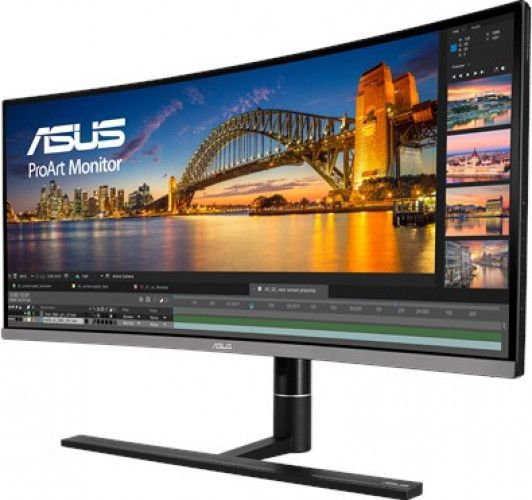 imagine 3 Monitor Curbat LED 34.1 ASUS PA34VC UWQHD 5ms IPS 100Hz Boxe pa34vc