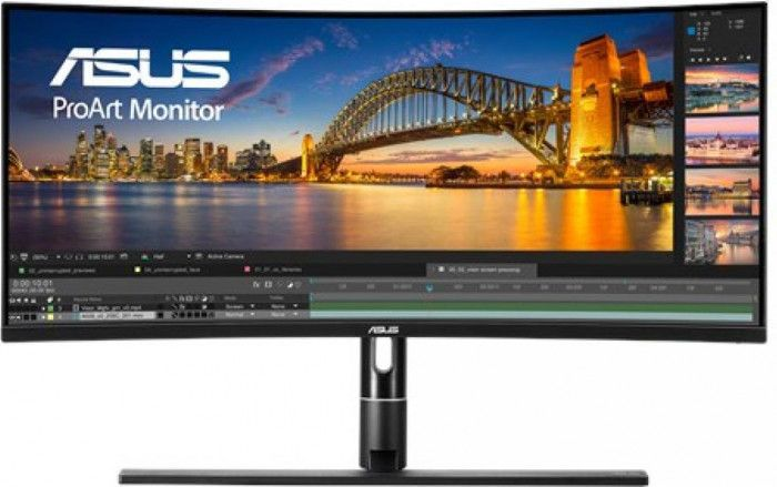 imagine 0 Monitor Curbat LED 34.1 ASUS PA34VC UWQHD 5ms IPS 100Hz Boxe pa34vc