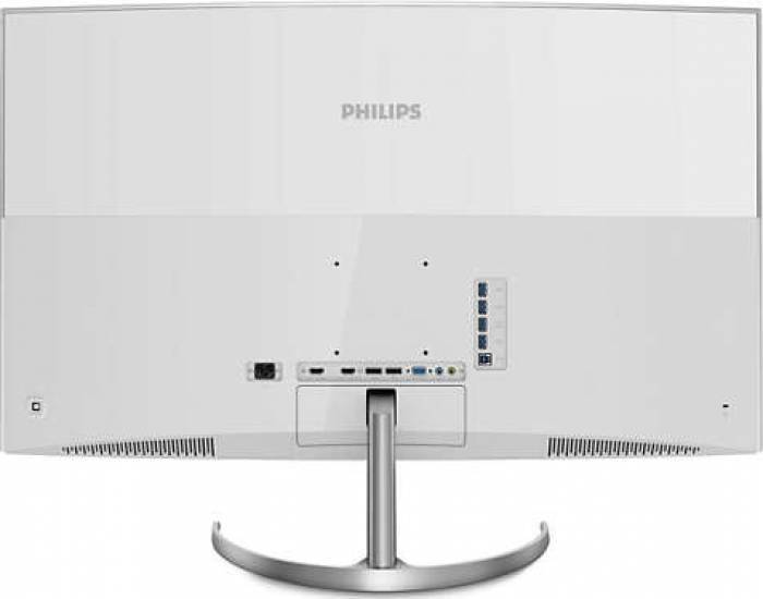 imagine 2 Monitor Curbat LED 40 Philips BDM4037UW 4K UHD 4ms bdm4037uw/00