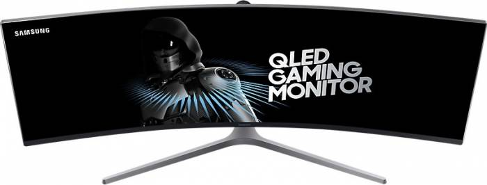 imagine 2 Monitor Gaming Curbat QLED 49 Samsung C49HG90DMU UHD HDR 1ms 144Hz FreeSync LC49HG90DMUXEN