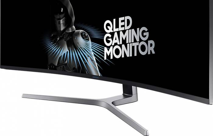 imagine 3 Monitor Gaming Curbat QLED 49 Samsung C49HG90DMU UHD HDR 1ms 144Hz FreeSync LC49HG90DMUXEN