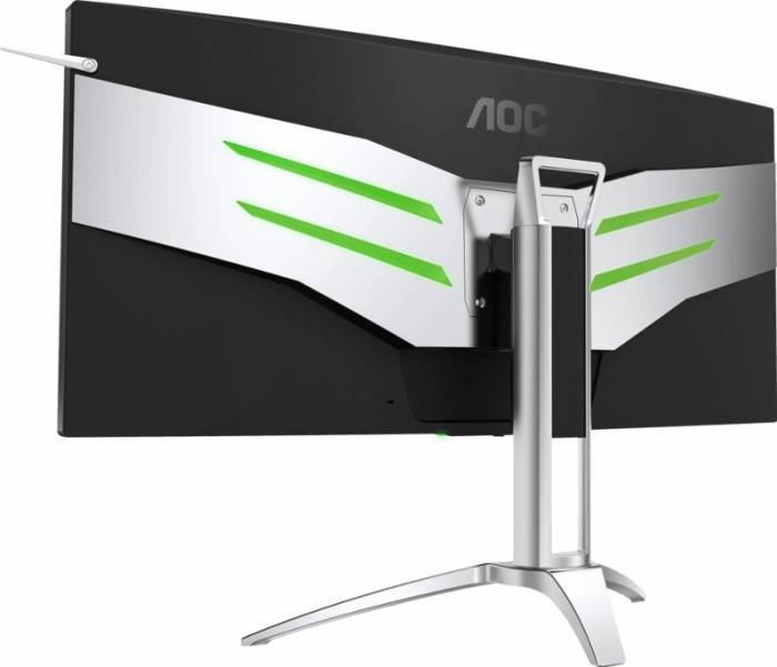 imagine 3 Monitor Gaming Curbat LED 35 AOC AG352UCG UWQHD 4ms G-Sync ag352ucg
