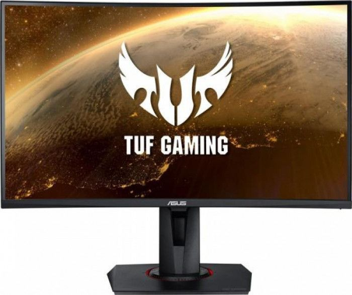 imagine 0 Monitor Gaming Curbat LED 27 ASUS TUF VG27WQ WQHD 165Hz FreeSync Negru vg27wq