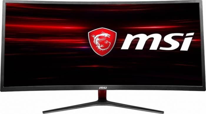 imagine 0 Monitor Gaming Curbat LED 34 MSI Optix MAG341CQ UWQHD 4ms 100Hz 9s6-3ma01h-001