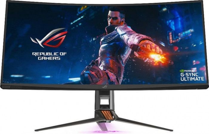 imagine 0 Monitor Gaming Curbat  LED 35 ASUS ROG Swift PG35VQ UW-QHD 2ms 200Hz G-SYNC pg35vq