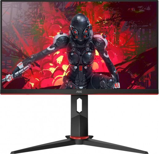 imagine 0 Monitor Gaming LED 23.8 AOC 24G2UBK Full HD IPS 1ms MPRT 144Hz Boxe 24g2u/bk