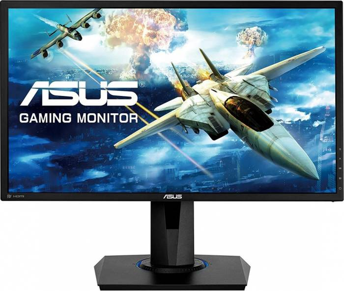 imagine 0 Monitor Gaming LED 24 Asus VG245Q FullHD 75Hz FreeSynch 1ms VG245Q