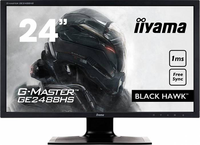 imagine 0 Monitor Gaming LED 24 LED Iiyama G-Master Black Hawk GE2488HS Full HD 1ms FreeSync ge2488hs-b2