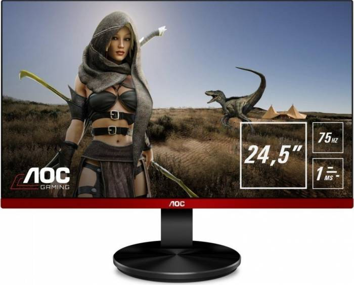 imagine 0 Monitor Gaming LED 25 AOC G2590VXQ Full HD 1ms 75Hz FreeSync g2590vxq