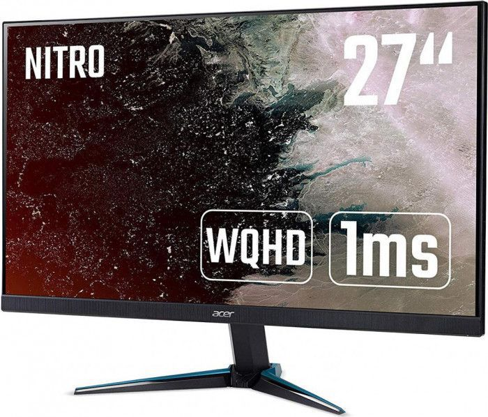 imagine 1 Monitor Gaming LED 27 Acer Nitro VG270UP WQHD 1ms IPS 144Hz FreeSync Boxe um.hv0ee.p01
