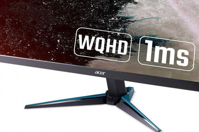 imagine 2 Monitor Gaming LED 27 Acer Nitro VG270UP WQHD 1ms IPS 144Hz FreeSync Boxe um.hv0ee.p01