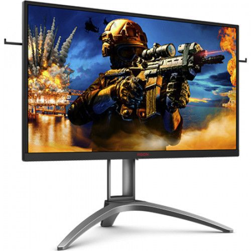 imagine 4 Monitor Gaming LED 27 AOC Agon 3 AG273QZ WQHD 240Hz 0.5ms FreeSync2 Negru-Rosu ag273qz