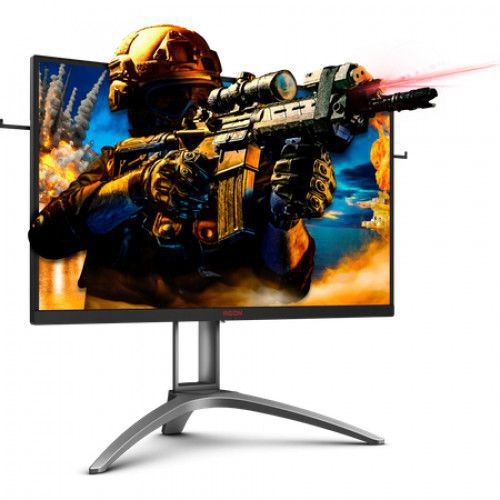 imagine 6 Monitor Gaming LED 27 AOC Agon 3 AG273QZ WQHD 240Hz 0.5ms FreeSync2 Negru-Rosu ag273qz