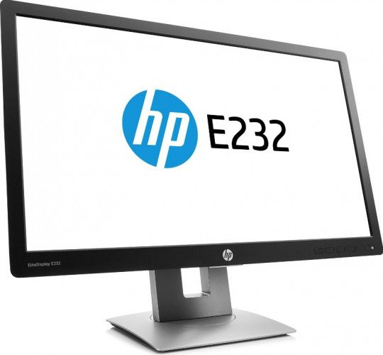 imagine 1 Monitor HP EliteDisplay E232 23 inch Negru Argintiu ABD0294