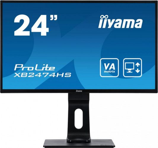 imagine 0 Monitor Iiyama ProLite XB2474HS-B2 24inch VA LED FullHD 4ms Matte Black xb2474hs-b2