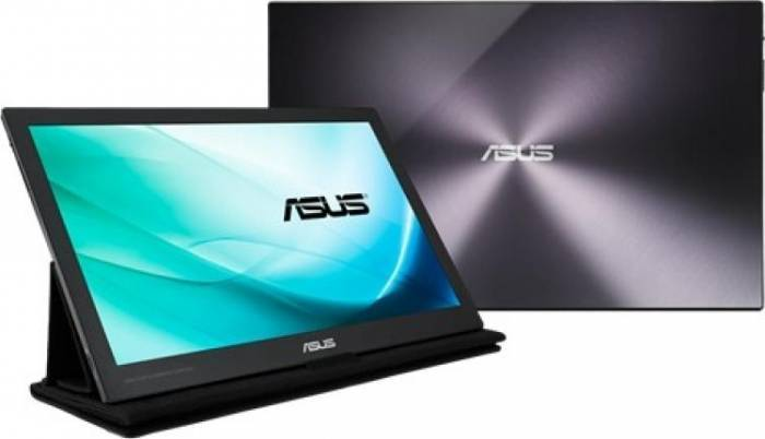 imagine 0 Monitor LED 15.6 Asus MB169C+ Full HD IPS 5ms mb169c+