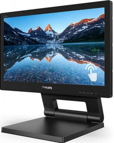 imagine 2 Monitor LED 15.6 Touchscreen Philips 162b9t/00 HD Negru 162b9t/00