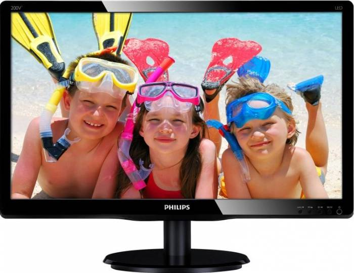 imagine 0 Monitor LED 19.5 Philips 200V4LAB/00 HD+ 5 ms Negru 200v4lab2/00