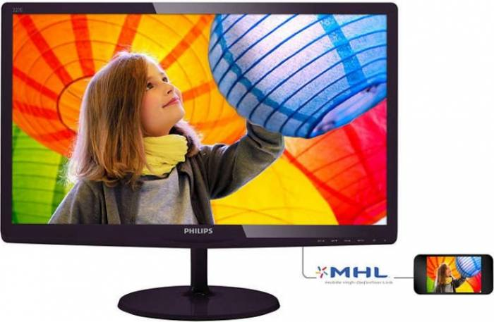 imagine 0 Monitor LED 21.5 227E6LDAD/00 Full HD 2ms 227e6ldad/00
