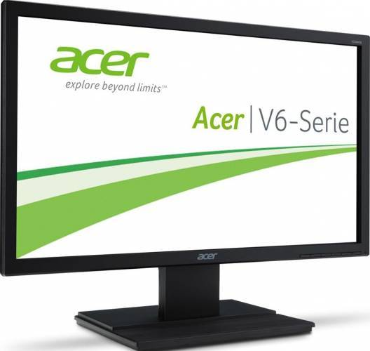 imagine 1 Monitor LED 21.5 ACER V226HQLbid FullHD Negru um.wv6ee.015