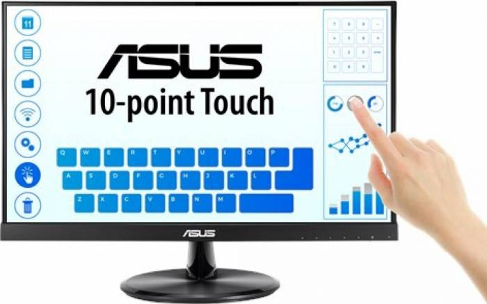 imagine 0 Monitor LED 21.5 Asus VT229H Full HD 5ms IPS Boxe vt229h.