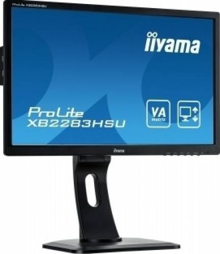 imagine 0 Monitor LED 21.5 Iiyama XB2283HSU-B1DP Full HD 5ms Negru xb2283hsu-b1dp