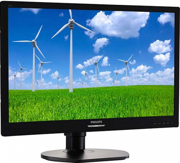 imagine 1 Monitor LED 21.5 Philips 221S6LCB Full HD 5 ms Negru 221s6lcb/00