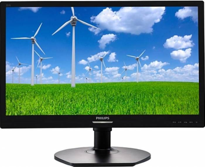 imagine 0 Monitor LED 21.5 Philips 221S6LCB Full HD 5 ms Negru 221s6lcb/00