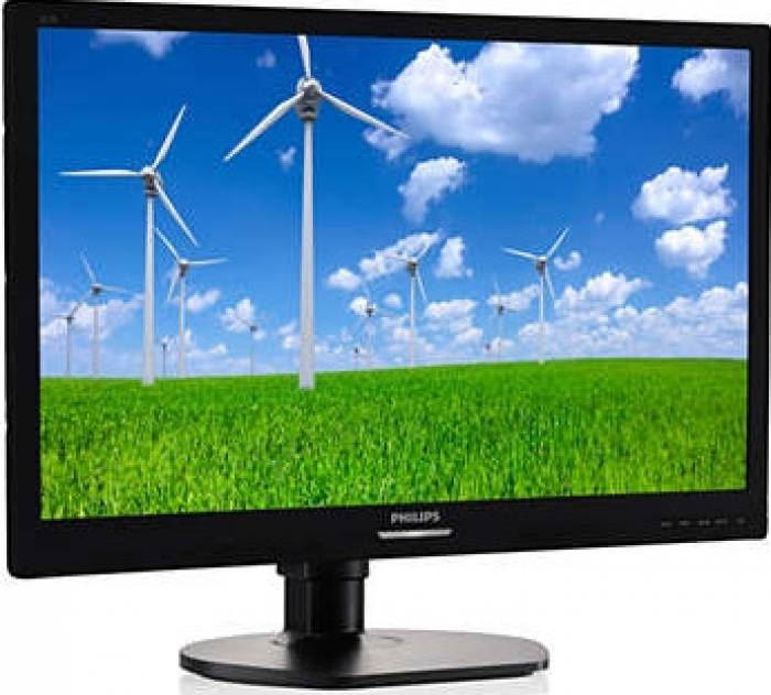 imagine 1 Monitor LED 21.5 Philips 221S6QYMB IPS Full HD 5 ms Negru 221s6qymb/00