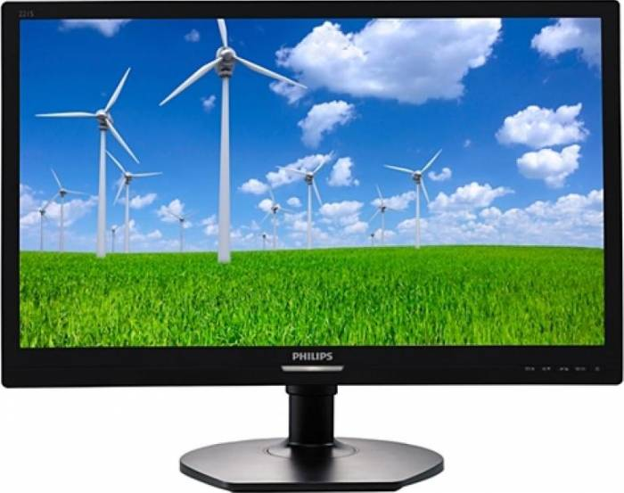 imagine 0 Monitor LED 21.5 Philips 221S6QYMB IPS Full HD 5 ms Negru 221s6qymb/00