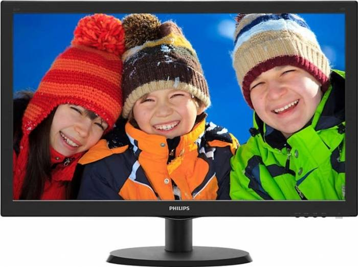 imagine 0 Monitor LED 21.5 Philips 223V5LHSB2 Full HD Negru 223v5lhsb2/00