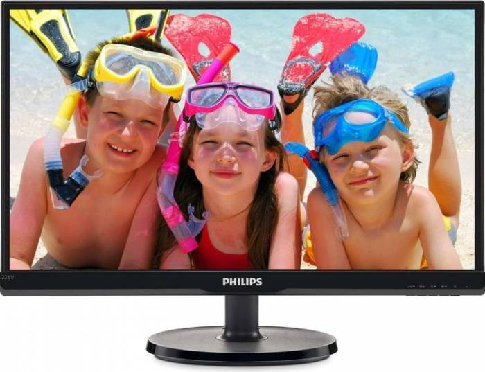 imagine 0 Monitor LED 21.5 Philips 226V6QSB6/00 IPS Full HD 226v6qsb6/00