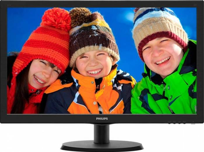imagine 0 Monitor LED 22 Philips 223V5LHSB01 Full HD 5ms 223v5lhsb/01